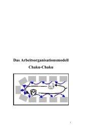 Das Arbeitsorganisationsmodell Chaku-Chaku - Schaeffler ...