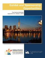 Exhibit and Sponsorship Opportunities - IIA National Conference