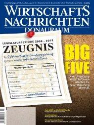 Ausgabe 11/2013 Wirtschaftsnachrichten Donauraum