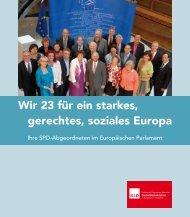 Wir 23 für ein starkes, gerechtes, soziales Europa - Udo Bullmann