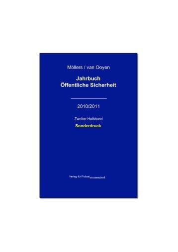 JBÖS-2010-2011-Zweiter Halbband-Auslandseinsätze - Jahrbuch ...