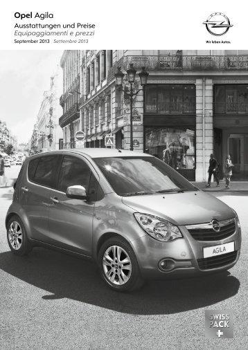 Opel Agila - opel4you.ch