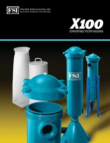product brochure - Axeon Water Technologies