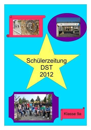 Ausgabe 2 - Unterrichtsprojekt der Klasse 9a