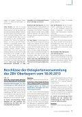 DER BEZIRKSVERBAND - Zahnärztlicher Bezirksverband Oberbayern - Seite 7