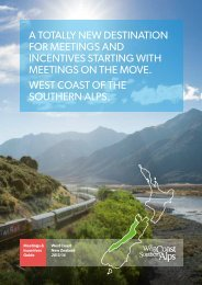 West Coast Meetings Brochure