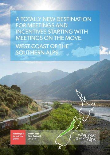 West Coast Meetings Brochure
