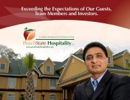 Exceeding the Expectations of Our Guests, Team Members and ...