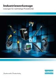 Hauptkatalog Atlas Copco Tools 2013 - Merz Drucklufttechnik GmbH