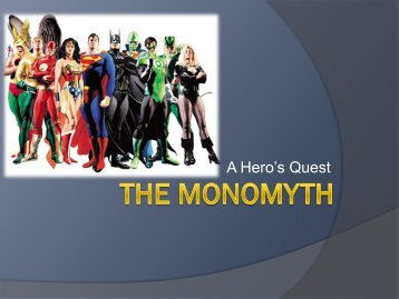 The Monomyth PPT