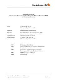 Protokoll zur Sitzung des Arbeitskreises Geowissenschaftliche ...