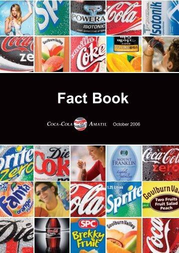 Fact Book - Coca-Cola Amatil