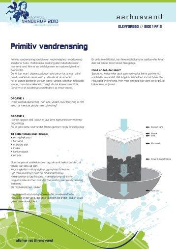 Primitiv vandrensning - Aarhus Vand