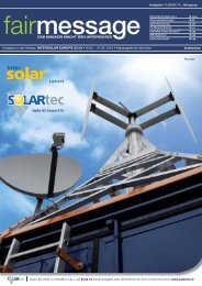 Intersolar 2013 - fairmessage.de