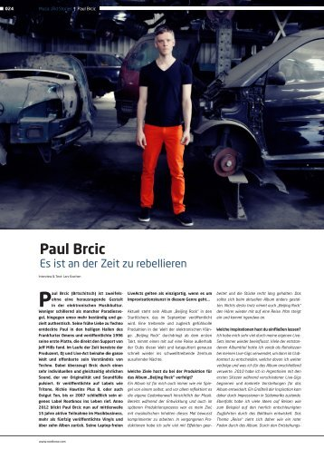 Paul Brcic (Brtschitsch) ist zweifels - Pearls Booking