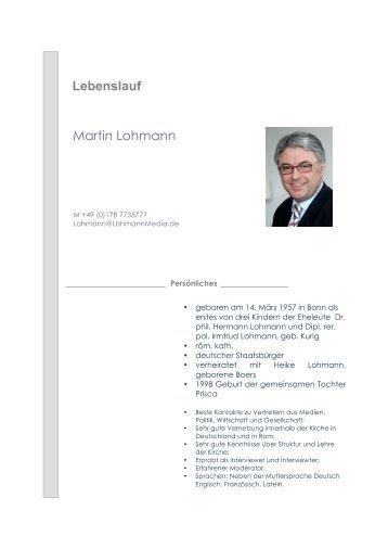 Lebenslauf Martin Kirsch