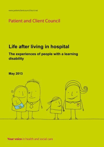 Life after living in hospital - Patient and Client Council