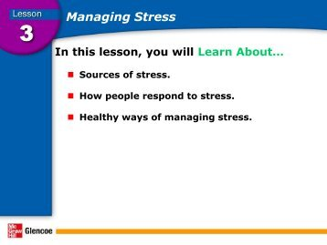 an overview of stress stressors and stress management techniques Stress management is a skill needed by everyone, but particularly needed  that  create stress and to develop strategies for dealing with them  talk about the  stressors with a person you trust in order to relieve the pressure.