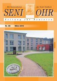 Nr. 80 März 2013 - Seniorenbeirat der Stadt Gladbeck