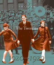 The Twenties - Southwest Career and Technical Academy