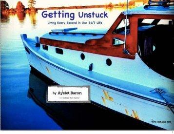 Getting Unstuck - Ayelet Baron