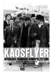 Flyer - NordKaos Hamburg