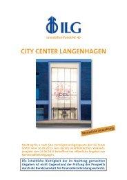 Nachtrag - ILG Fonds GmbH