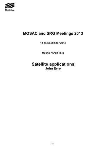 Satellite Applications (PDF, 154 kB) - Met Office