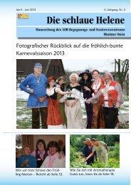 Hauszeitung Helene Ausgabe 2/2013 - ASB Begegnungs- und ...
