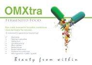 OMXtra Brosjyre - Universal Biology