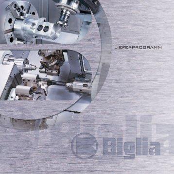 Produktportfolio Biglia PDF - BWB Werkzeugmaschinen AG