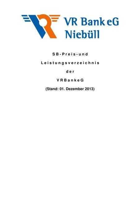 SB Preis- und Leistungsverzeichnis_Stand 01.12.2013