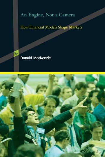 MacKenzie D. An engine, not a camera.. How financial ... - TiERA