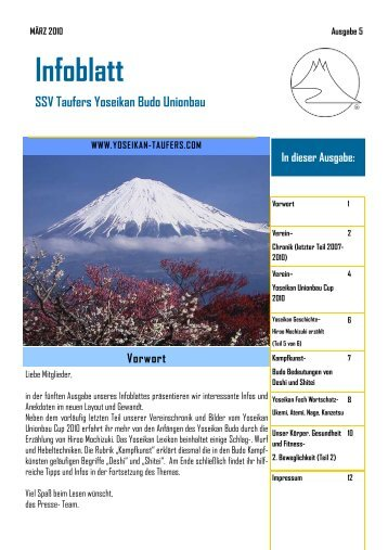 Download - SSV Taufers Yoseikan Budo Unionbau