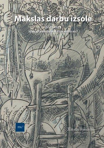 Izsoles katalogs - Art Embassy