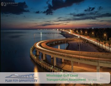 Mississippi Gulf Coast Transportation Assessment - Plan for ...