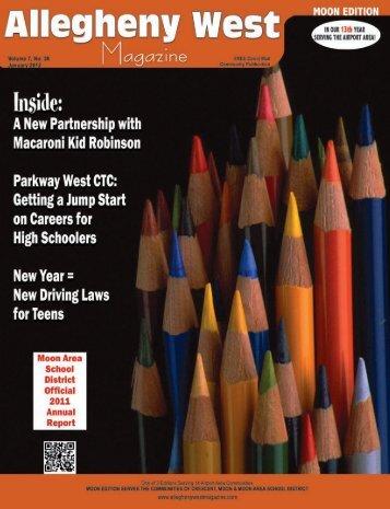 publisher's - Allegheny West Magazine