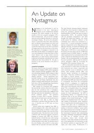 An Update on Nystagmus - ACNR