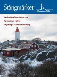 Landsortstrafiken går året runt Pensionär på Hjälmö Följ med på ...