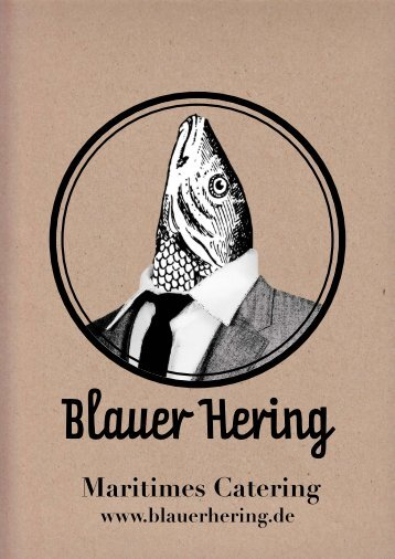 Maritimes Catering - Blauer Hering