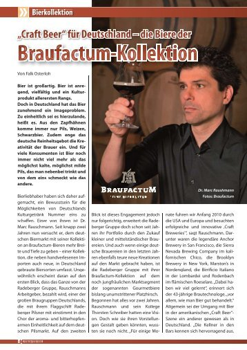 Bierkollektion - Braufactum