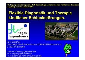 Flexible Diagnostik und Therapie kindlicher Schluckstörungen - anifs