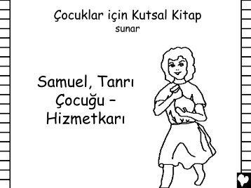 Samuel Gods BoyServant Turkish CB - Bible for Children