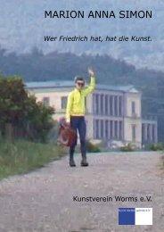Wer Friedrich hat, hat die Kunst. - Marion Anna Simon