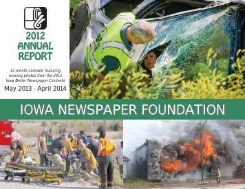 to view the 2012 Annual Report. - Iowa Newspaper Association