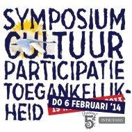 Uitnodiging 6 februari Symposium - Movisie