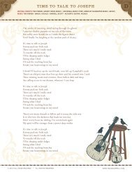 download the lyrics & liner notes - Tim and Darrell