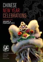 Chinese New Year Brochure - Bramcote Today
