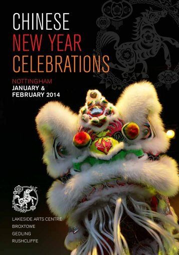 Chinese New Year Brochure - Bramcote Today