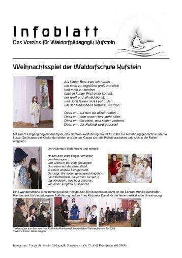 Weihnachtsspiel der Waldorfschule Kufstein - Waldorfpädagogik ...